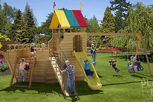 Jungle Gyms, Tree Houses, and Backyard Playsets