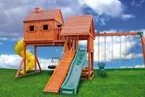 NEW PRICE Jungle Gyms Canada Tree House play structure