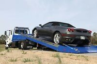 Towing from Alberta to BC with 1 empty spot for your car save $$