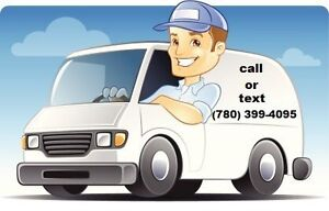 MOVING/DELIVERY/JUNK REMOVAL SERVICE - FLAT RATE $40 ONLY !!! Edmonton Edmonton Area image 1