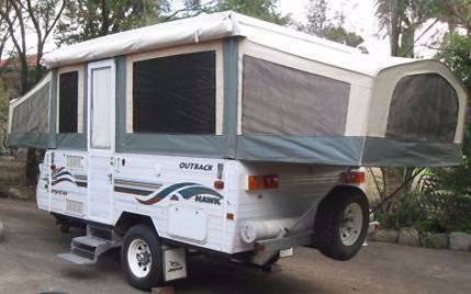 Creative 1998 Jayco Westport Pop Top Caravan Canberra Region Preview