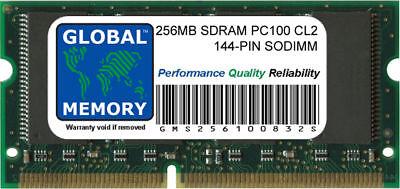 256MB PC100 100MHz 144-PIN SDRAM SODIMM MEMORY RAM FOR -