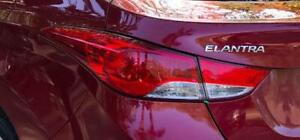 2011 2012 2013 Hyundai Elantra Left Driver Side OE, OEM Outer Tail Light, Tail Lamp Used - Clean & Undamaged