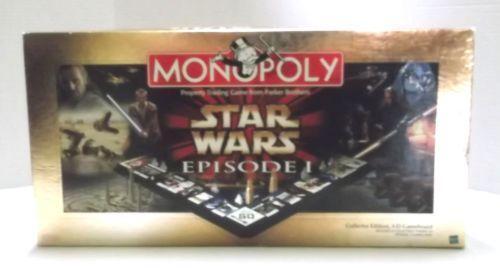 Star Wars Episode 1 Monopoly Ebay