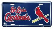 St Louis Cardinals Metal Sign