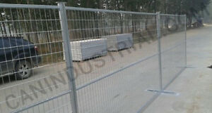 6x10 TEMPORARY FENCE PANELS - CONSTRUCTION job site temp fencing