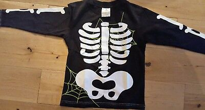 Halloween skeleton top age 5-6 years New in packaging Boys Halloween Dressing up