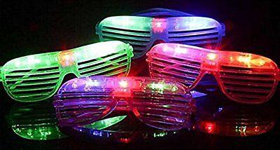 LED Shutter Glasses Light Up eyeglasses Shades Flashing Rock Rave Party Supplies](Light Up Eyeglasses)