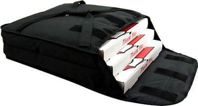 """Pizza Delivery Bags Thick Insulated (Holds up to Two 16"""" or Two 18"""" Pizzas)Black"""
