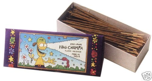 NAG CHAMPA FLORA INCENSE - Sticks - 300g