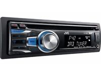 JVC KD-DB42AT DAB+ Radio CD MP3 Car Stereo Front USB For Iphone Ipod Dual Aux In