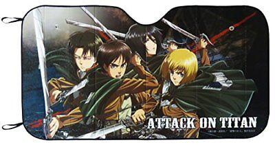 Meiho Car Sunshade Attack on Titan Shingeki no Kyojin TT01 Car Accessories JP](Attack On Titan Accessories)
