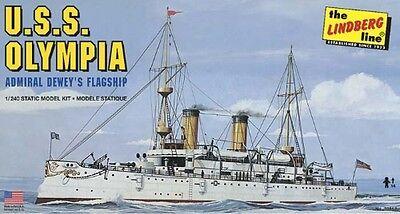 Lindberg [LND] 1:240 USS Olympia Plastic Model Kit 402 LND402