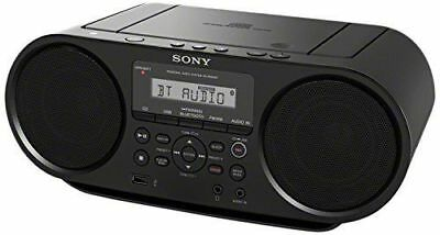 Sony ZSRS60BT CD Boombox W/ Bluetooth, NFC, AM/FM, USB, Headphone/Line-in Jacks](Boom Boxes)