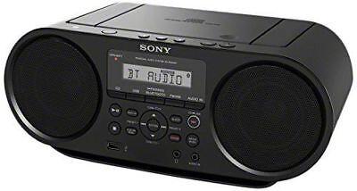New Sony ZSRS60BT CD Boombox Bluetooth, NFC, AM/FM, USB, Headphone/Line-in Jacks