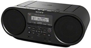Sony ZSRS60BT CD Boombox W/ Bluetooth, NFC, AM/FM, USB, Headphone/Line-in Jacks