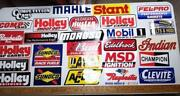 Racing Stickers Lot