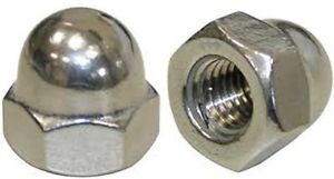 Stainless-Steel-M4-Acorn-Cap-Dome-Nut-A2-304-10-Pack