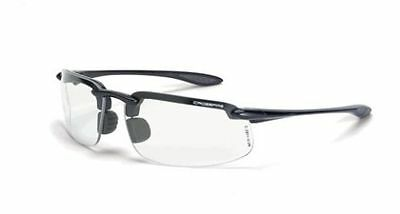 Crossfire Es4 Reader Diopter 1.5 Bifocal Gray Clear Lens Safety Glasses 216415