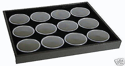 1-12 Gem Jar Tray With Black Insert Jewelry Display