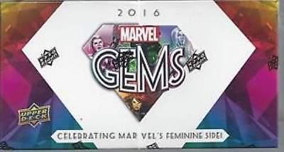 2016 Upper Deck Marvel Gems Factory Sealed Hobby Box