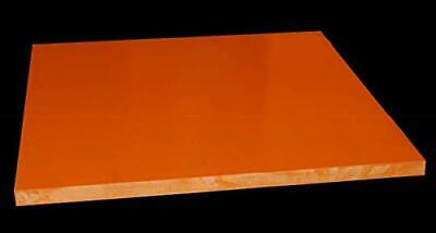 CynKen 1 Piece 10x200x200mm Red Bakelite Phenolic Resin Flat Plate Sheet PCB