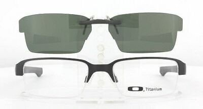 Custom Made for Oakley BOOMSTAND-OX5042-52X19-F Polarized Clip-On Sunglasses (Custom Made Clip On Sunglasses)