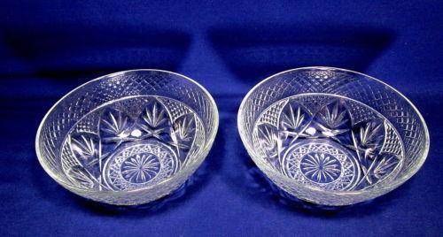 Clear Glass Soup Bowls Ebay