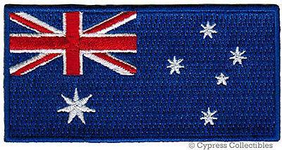 AUSTRALIA FLAG embroidered iron-on PATCH AUSTRALIAN new AUSSIE DOWN UNDER BEST