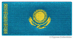 KAZAKHSTAN-FLAG-embroidered-iron-on-PATCH-KAZAK-EMBLEM-applique-NATIONAL-EMBLEM