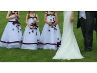 !! REDUCED!!Bridesmaid dresses x3