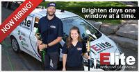 Elite Window Cleaning is hiring!