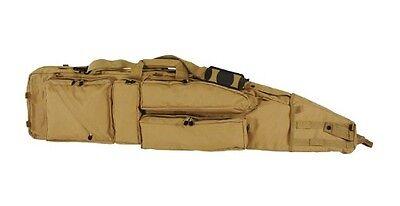 "Voodoo Tactical Ultimate Drag Bag Scoped Rifle Gun Case 51"" Coyote 15-798107000"