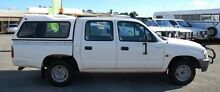 2002 Toyota Hilux LN147R MY02 White 5 Speed Manual Utility Bellevue Swan Area Preview