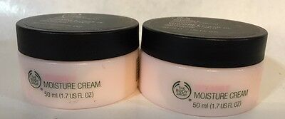 The Body Shop Vitamin E Moisture Cream 1 7 Oz  New  X2