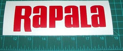 Rapala Sticker Decal Bass Catfish Trout Lure Hooks Sticker Swimbait Windshield