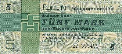 Ro.369b DDR 5 Mark 1979 Forumscheck Ersatznote