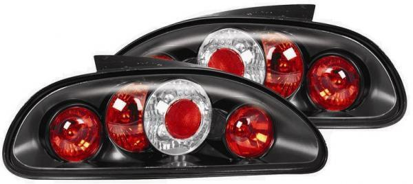 rover mgf and mg tf black lexus style rear lights 1 pair ebay. Black Bedroom Furniture Sets. Home Design Ideas