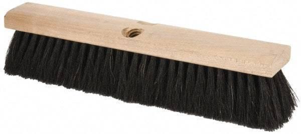 """PRO-SOURCE 14"""" General Purpose Horsehair Push Broom"""