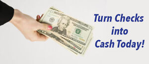 Cheque cashing and Payday loan