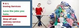 R & L Ironing Services - We LOVE the jobs you hate!!