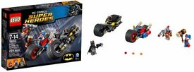 LEGO BATMAN GOTHAM CITY CYCLE CHASE DC Super Heroes 76053 Construction Set 7+
