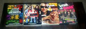 Viva la Bam Season 1-2-3-4-5 DVDs + extras + Wildboys Season 1