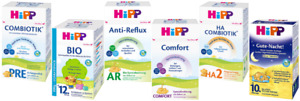 Best Bio Formula Milk for your baby:  Holle and Hipp
