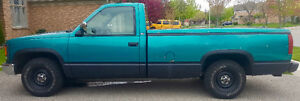 """""""THE RIG"""" HAS TO GO !!! 1995 GMC Sierra 1500 SL Pickup Truck"""