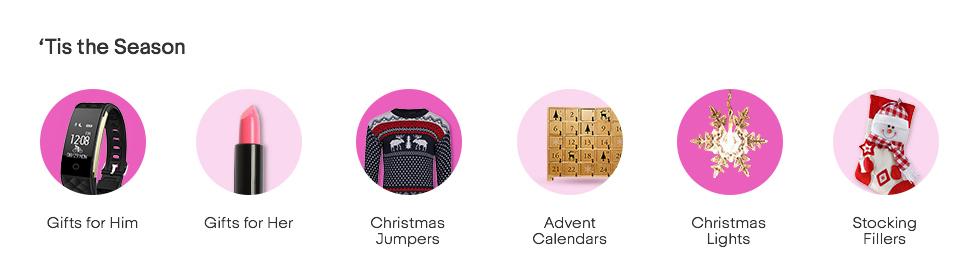 christmas popular destinations - Ebay Christmas
