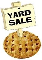 Yard/Bake Sale