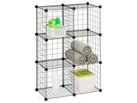 Modular Wire Storage Cubes