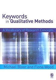 Keywords in Qualitative Methods-A Vocabulary of Research Concept
