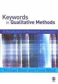 Keywords in Qualitative Methods-A Vocabulary of Research Concept Kawartha Lakes Peterborough Area image 1